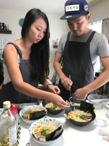 ramen and gyoza cooking class