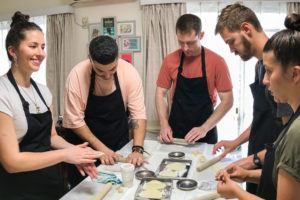 Japanese cooking class in English